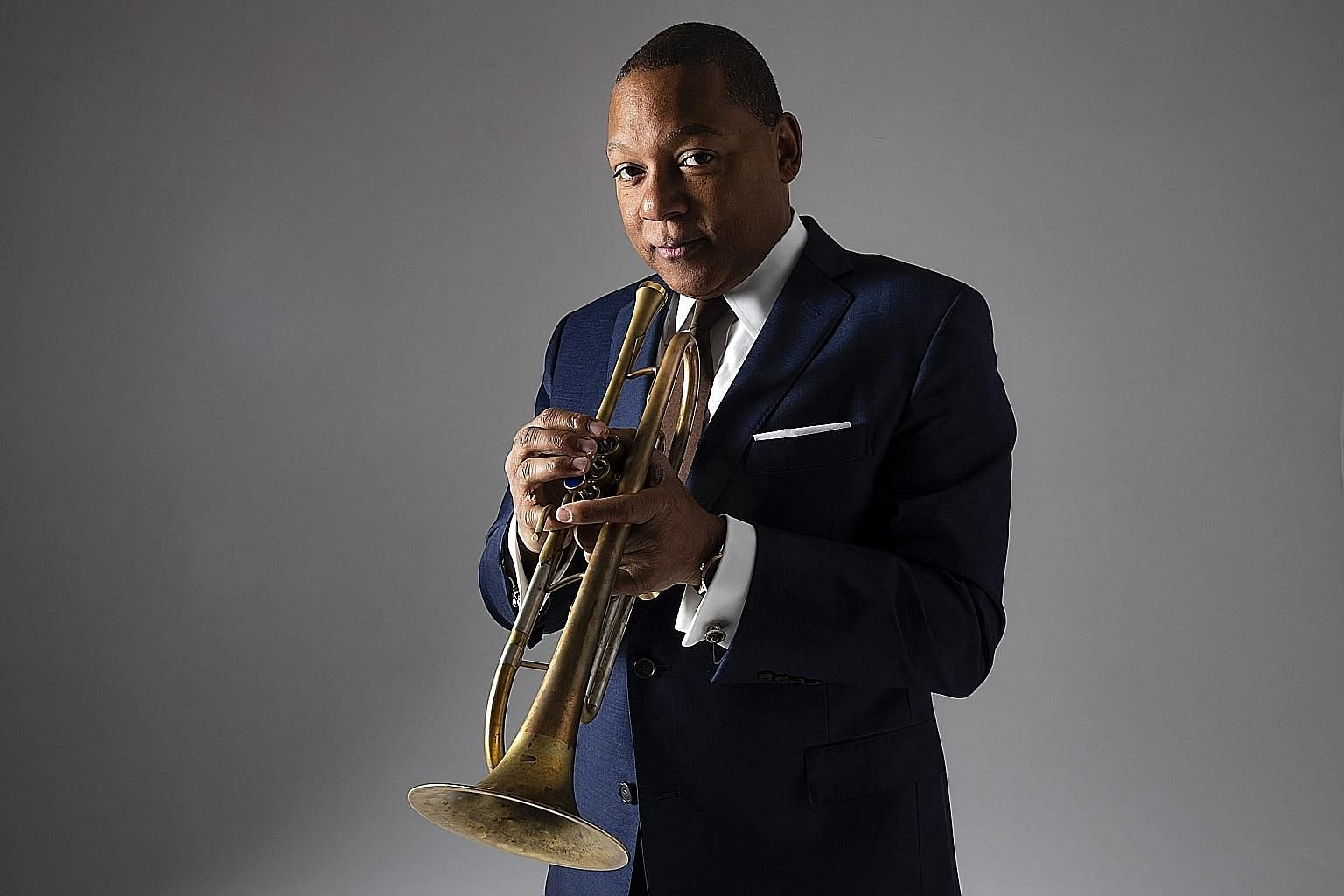 Besides two gigs, musician Wynton Marsalis (above) and his orchestra will play an afternoon jazz session for young people, targeted at students, in Singapore next month.