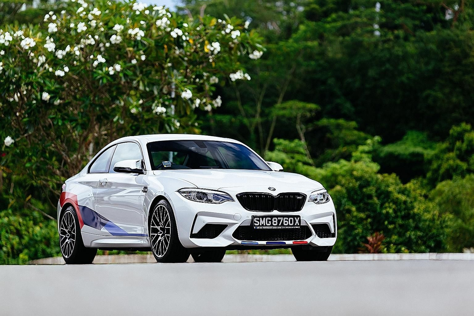 The BMW M2 Competition is responsive to steering input while its wheels maintain superb grip.