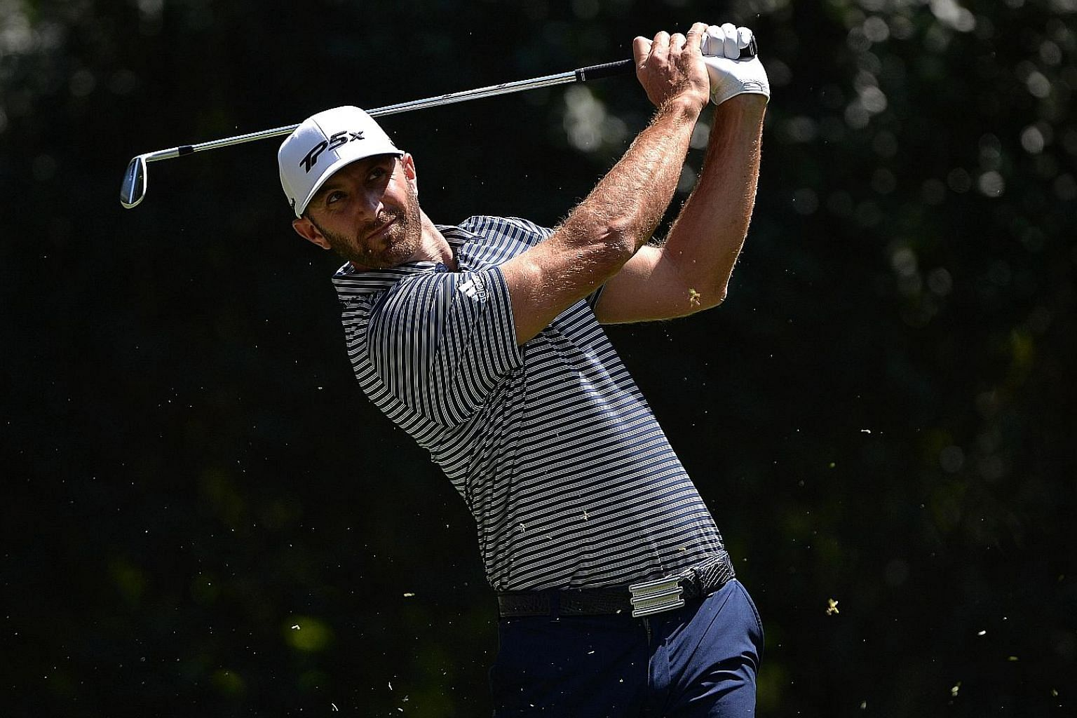 Dustin Johnson's impeccable driving and putting were key to his five-stroke victory over Rory McIlroy at the WGC-Mexico Championship.