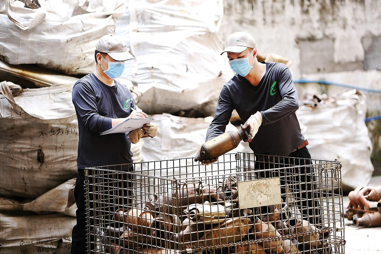BR Metals production staff sorting scrap catalytic converters for de-canning and milling. BR Metals secured the top spot in the list of fastest-growing businesses, with a compound annual growth rate of over 250 per cent from 2014 to 2017.