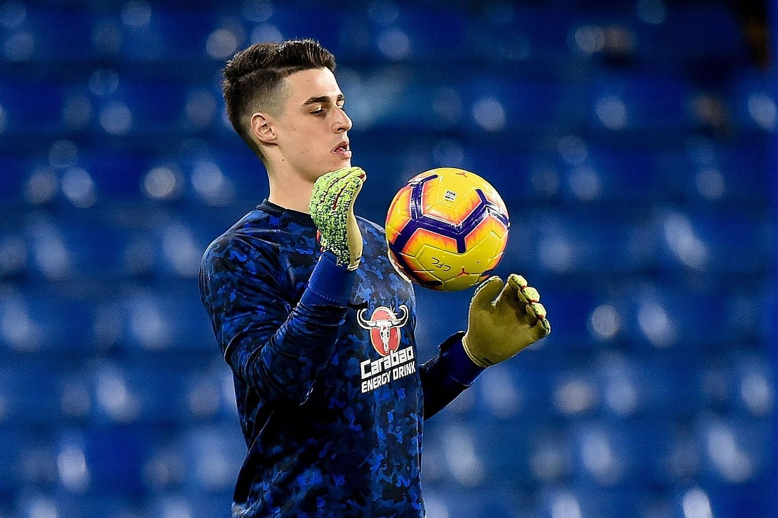 Kepa Arrizabalaga was dropped for Wednesday's win over Tottenham as punishment for refusing to be substituted during their League Cup final defeat.