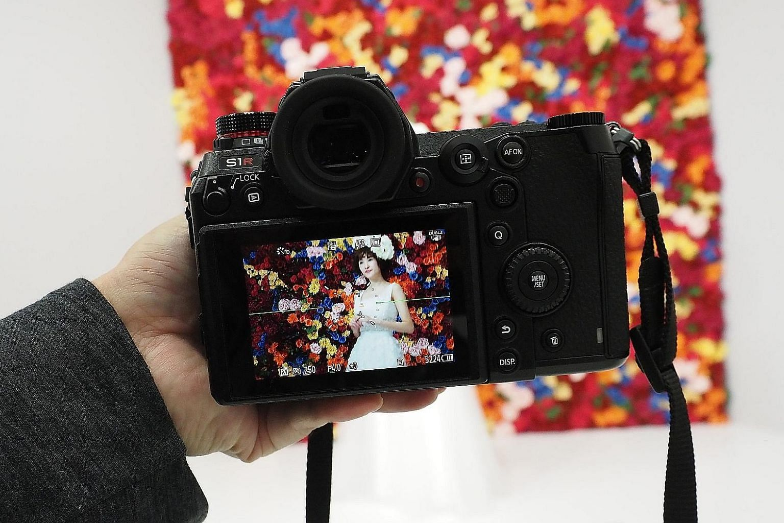 The 47-megapixel Panasonic Lumix S1R took sharp images with great details and nice colour reproduction during a hands-on session at CP+ in Japan.