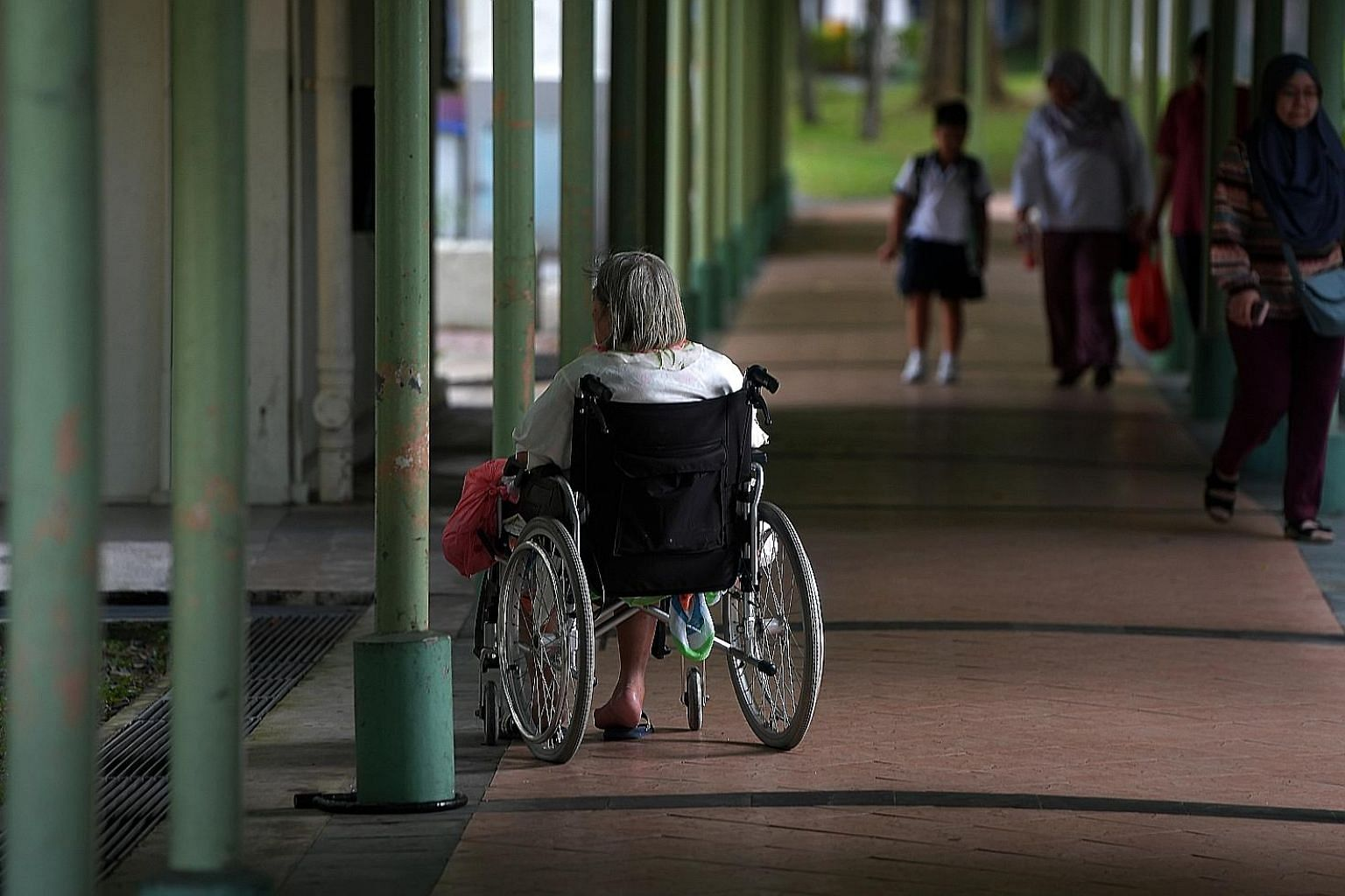 More options for the elderly: As the assisted living model is new, focus group discussions will be conducted to seek views on the proposed concept for assisted living in public housing, National Development Minister Lawrence Wong told Parliament.