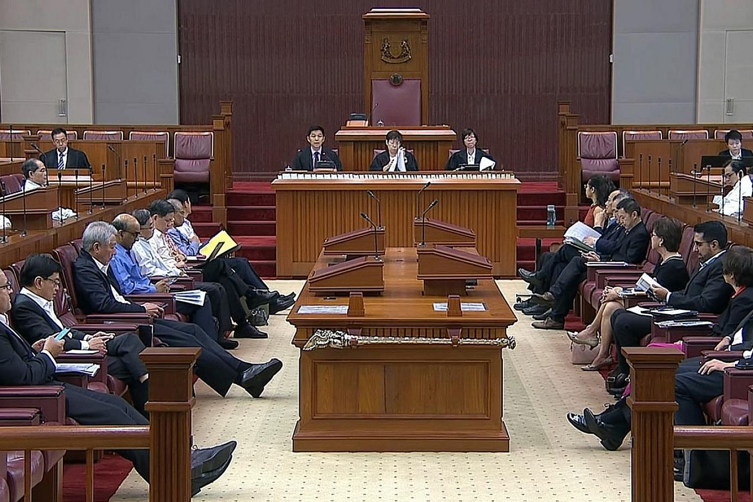 """Rounding up the debate on the Budget yesterday, Speaker Tan Chuan-Jin said the $6.1 billion Merdeka package would never have been budgeted for if this year's Budget goodies were part of a """"cynical election scheme""""."""