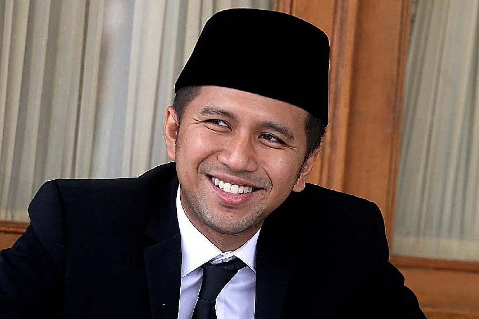 """East Java deputy governor Emil Dardak says the curiosity shown by young Indonesians about local politics in recent years is """"a good sign""""."""
