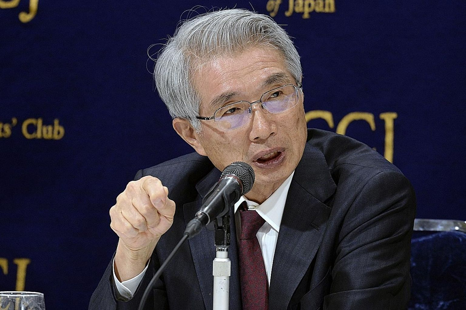 """Lead defence lawyer Junichiro Hironaka was nicknamed the """"Razor"""" after a string of high-profile acquittals in Japan, where the conviction rate is almost 100 per cent."""