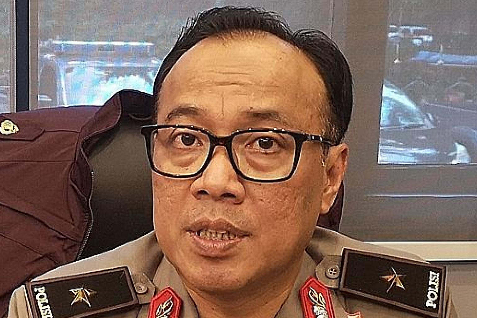 National police spokesman Dedi Prasetyo says Indonesia is stepping up surveillance and has analysed potential threats.