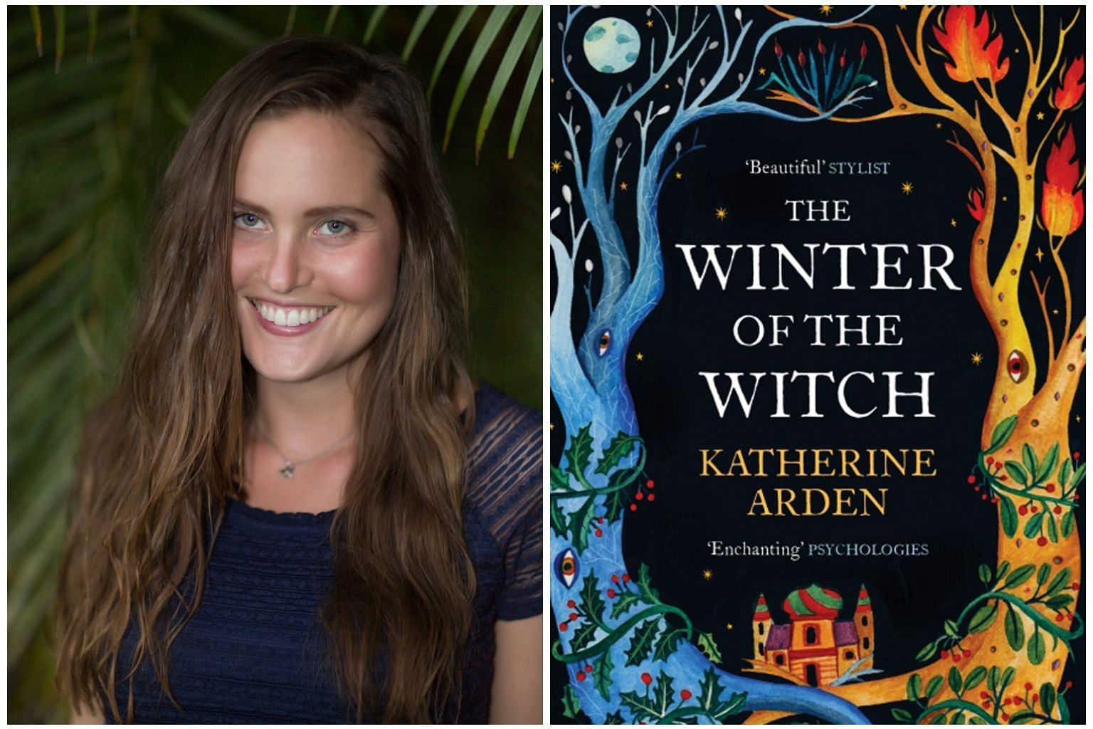 The Winter Of The Witch (right) by Katherine Arden (left) is the final book in the Winternight trilogy.