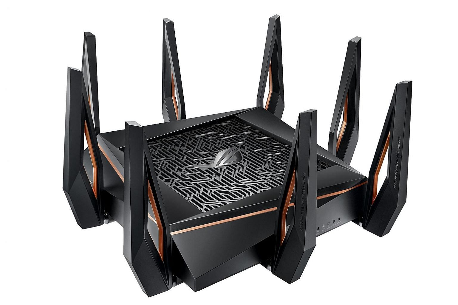 Asus' ROG Rapture GT-AX11000 tri-band gaming router supports Wi-Fi 6.