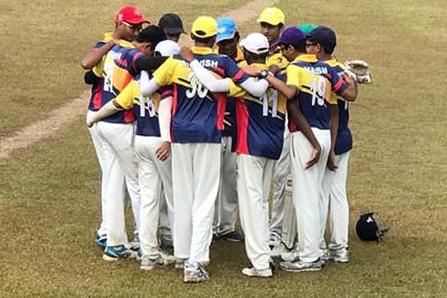 Anglo-Chinese School (Independent) retained their Schools National B Division cricket title after defeating Raffles Institution by eight wickets in yesterday's final at Dempsey cricket field. Neil Karnik of ACS (I) claimed five wickets for just 11 ru