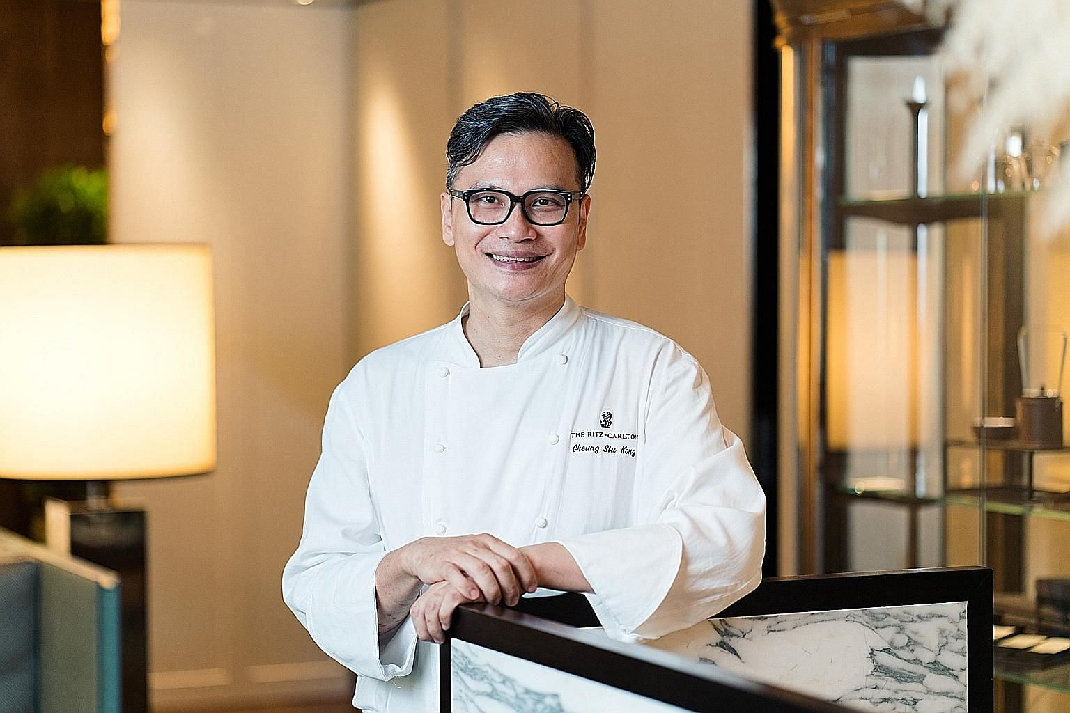 Clockwise from far left: Owner and managing director of Spring Court Soon Puay Keow, winner of the Lifetime Achievement Award; Summer Pavilion's Chinese executive chef Cheung Siu Kong, who is Chef of the Year; and Peach Blossoms' executive Chinese ch