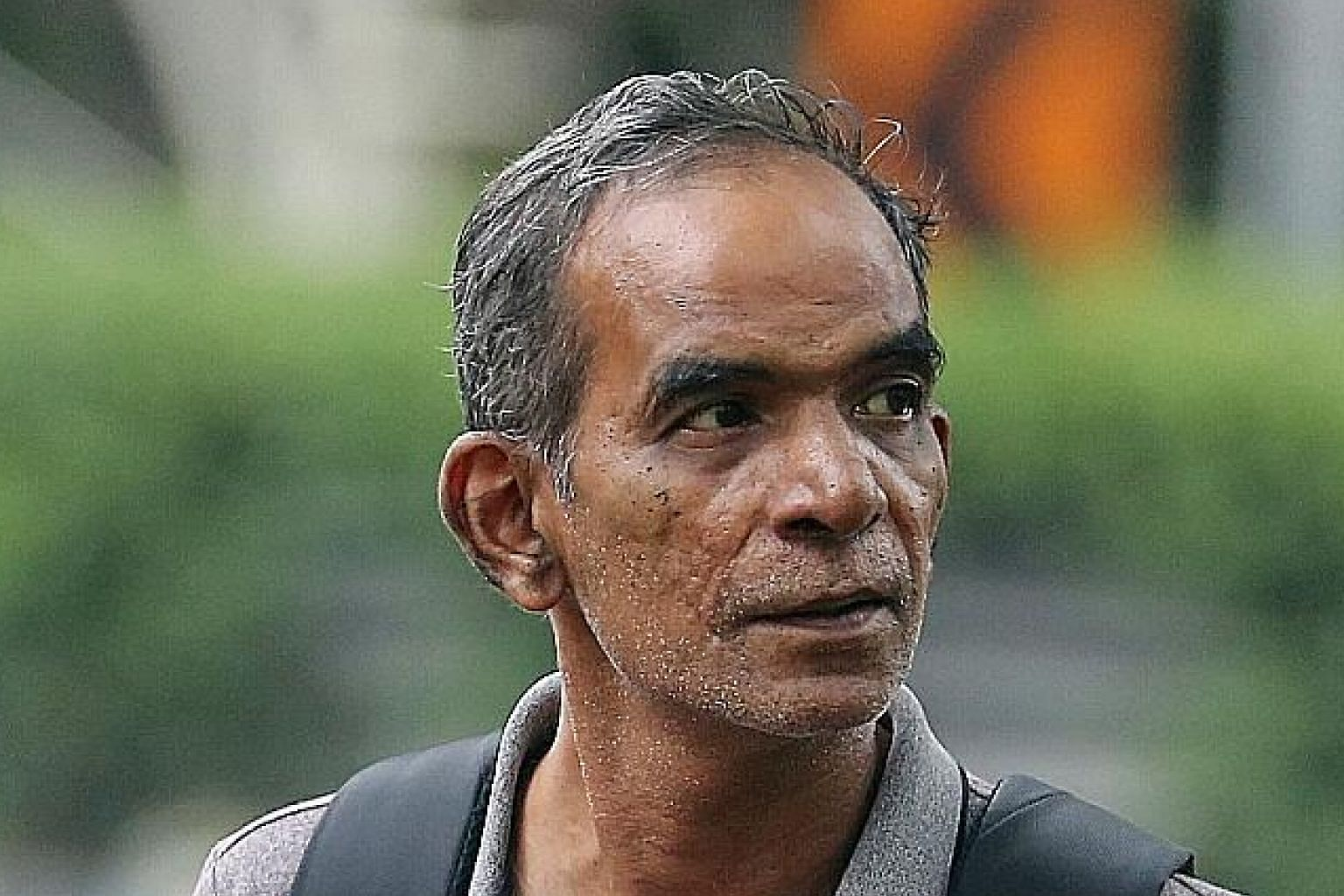 Alagappan Singaram (top) was fined $5,000. His son, A. Hariprasanth will be sentenced on April 16. Right: The pair set off an unlawful fireworks display in Bukit Batok West Avenue 6 at around 7.40pm on Nov 6 last year.