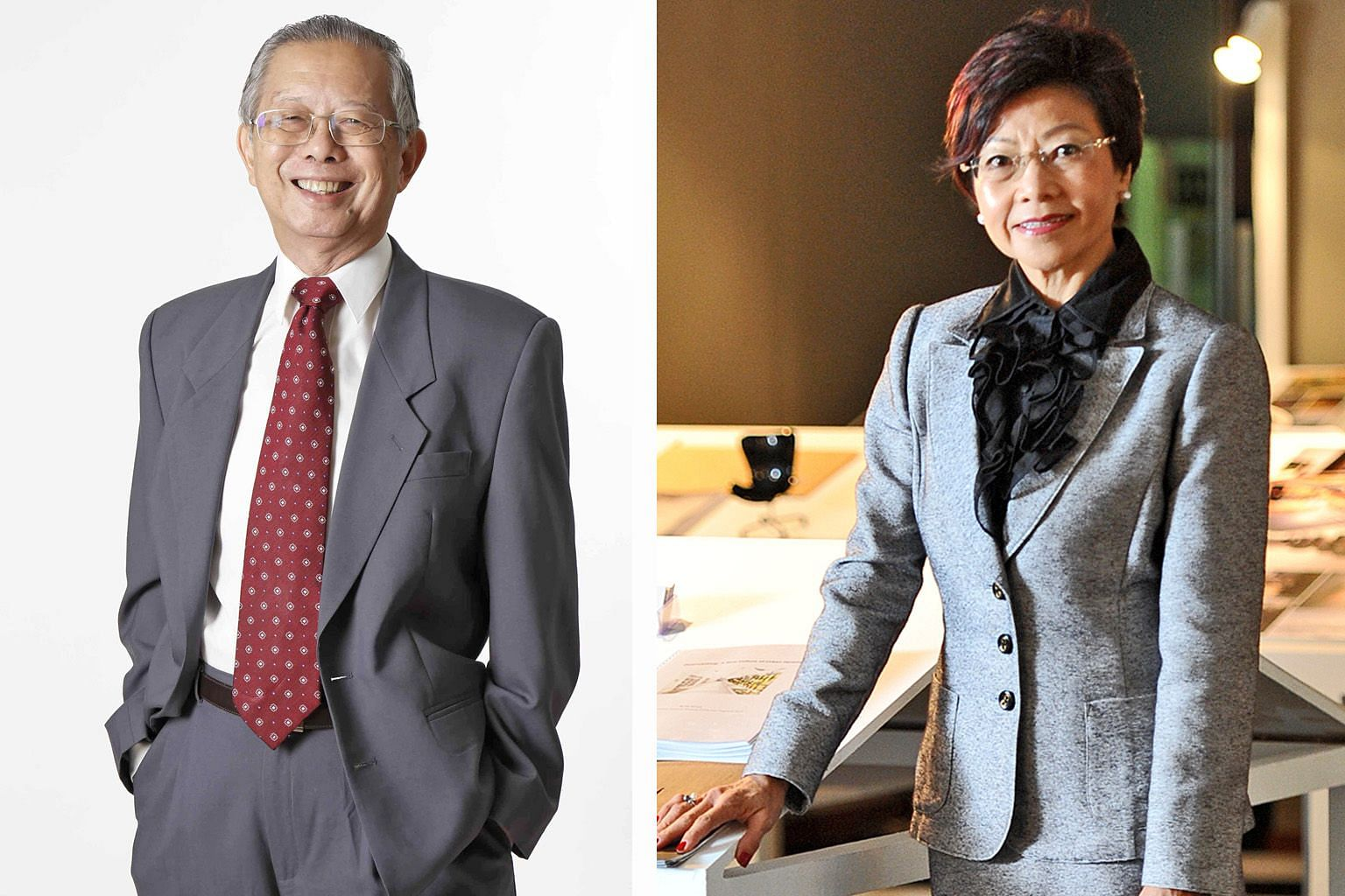 Professor Lim Siong Guan and Ms Low Sin Leng were part of the study team, whose members were mostly in their 20s and 30s.