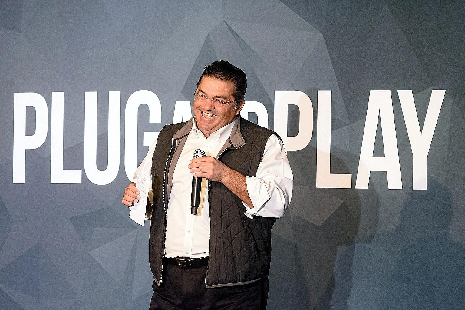 Mr Saeed Amidi started Plug and Play - known in many circles as the world's biggest accelerator - in 2006, when he realised how valuable fostering young companies could be.