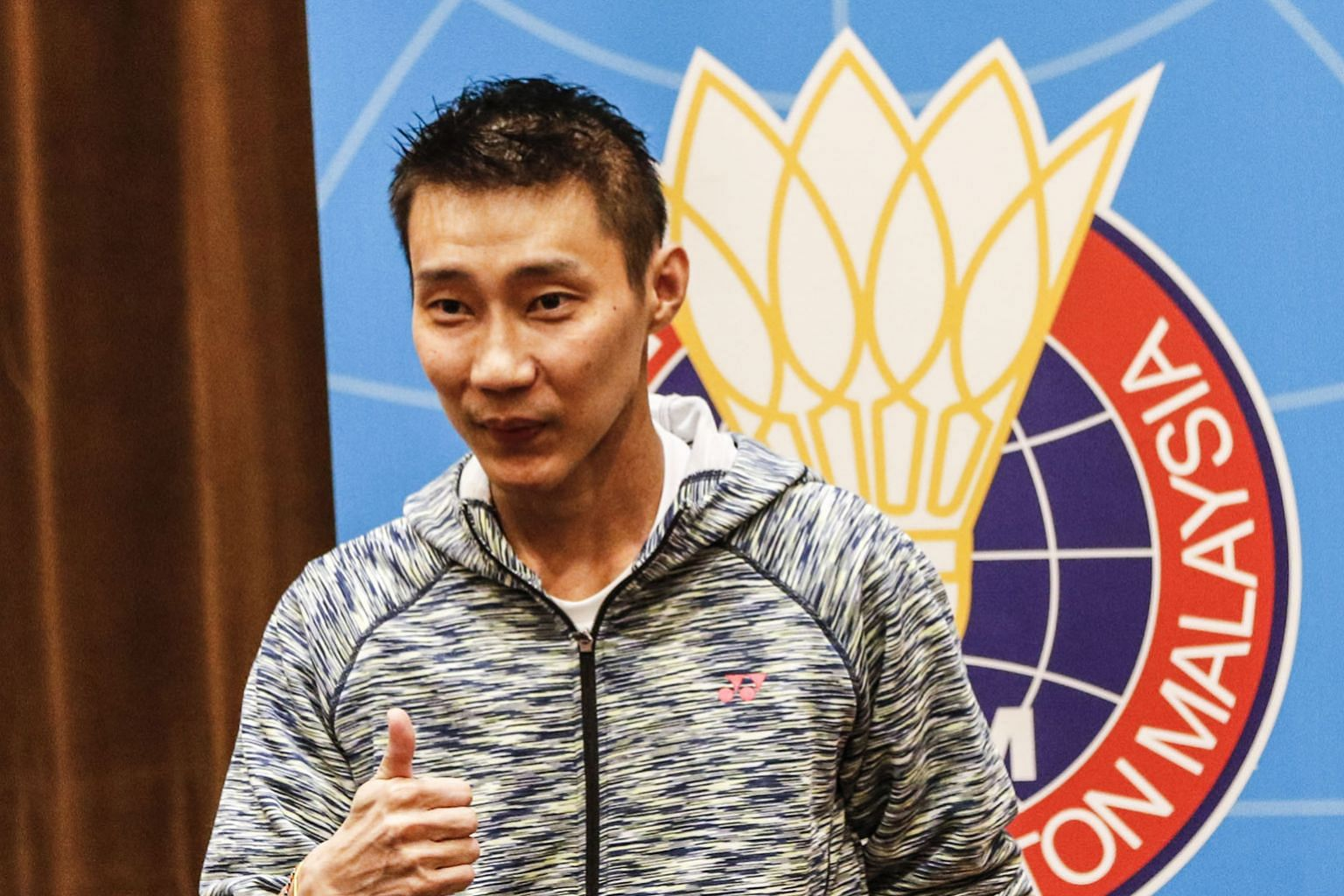 Lee Chong Wei could find himself out of the world's top 100 by end-April. He must be in the top 16 to be sure of an Olympic slot.
