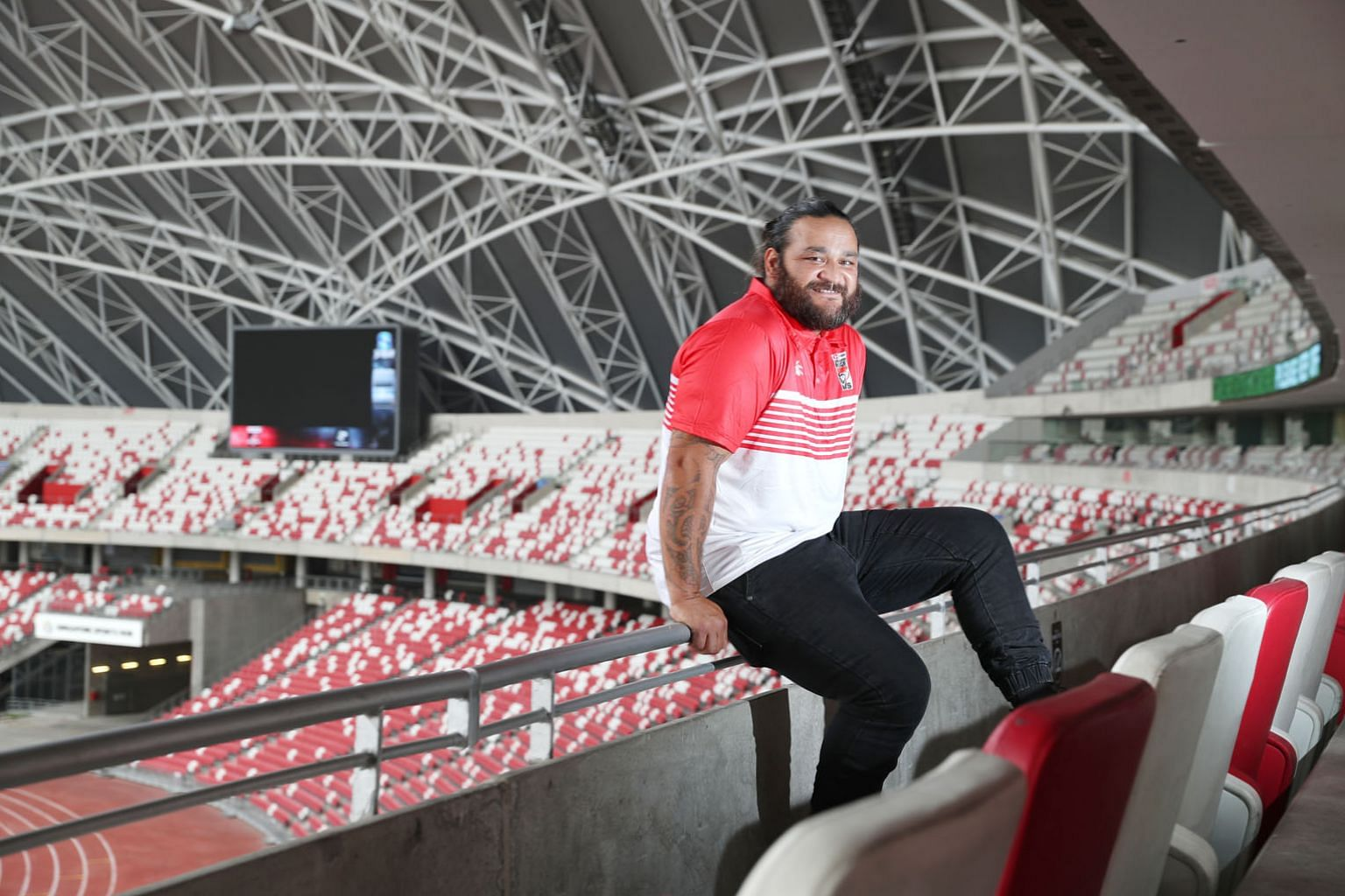 All Blacks World Cup winner Piri Weepu sees Ireland, Wales and England as New Zealand's biggest rivals in Japan in autumn. He is here to help promote the April 13-14 HSBC Singapore Rugby Sevens at the National Stadium.