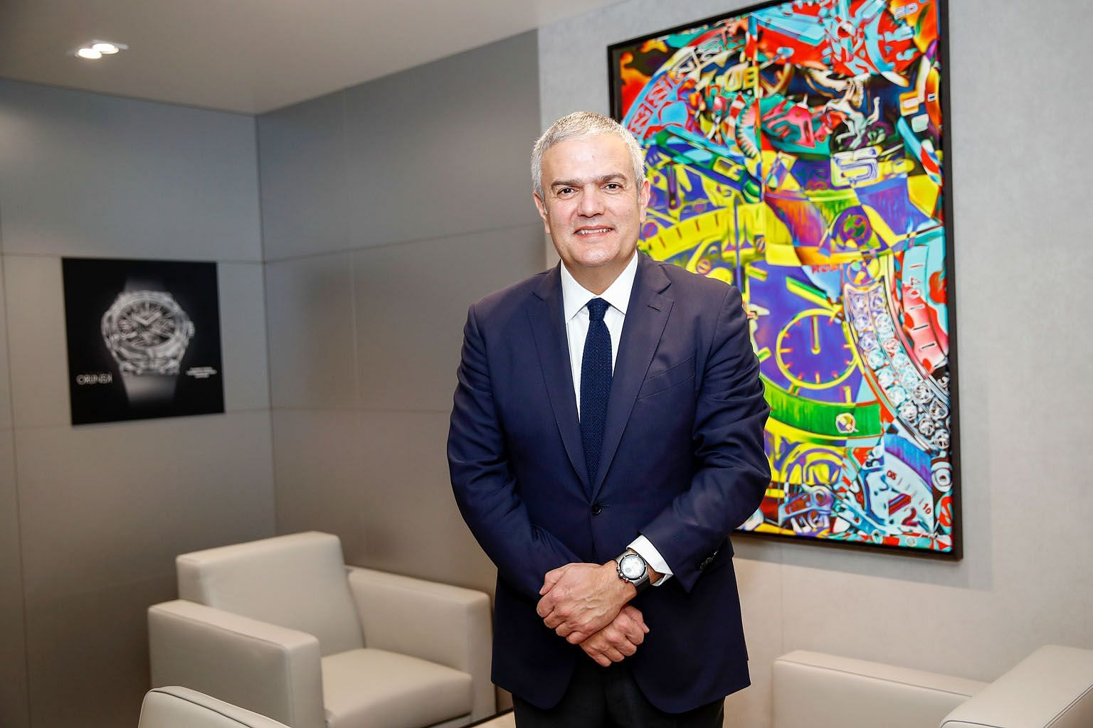 Hublot's chief executive officer Ricardo Guadalupe says the luxury watchmaker has noticed a fall in the number of Chinese travelling to the Umited States, and less traffic at its stores.