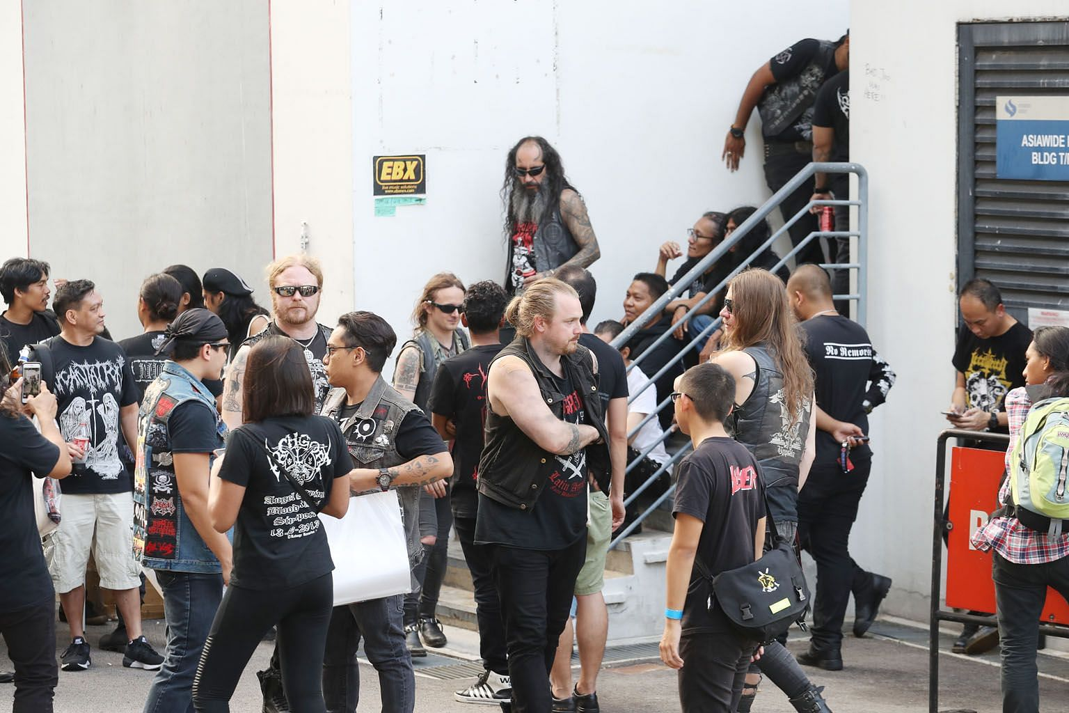 The Watain concert was scheduled for March 7 at EBX Live Space (above). It was cancelled after the Ministry of Home Affairs raised concerns about the band's history of denigrating religions and promoting violence.
