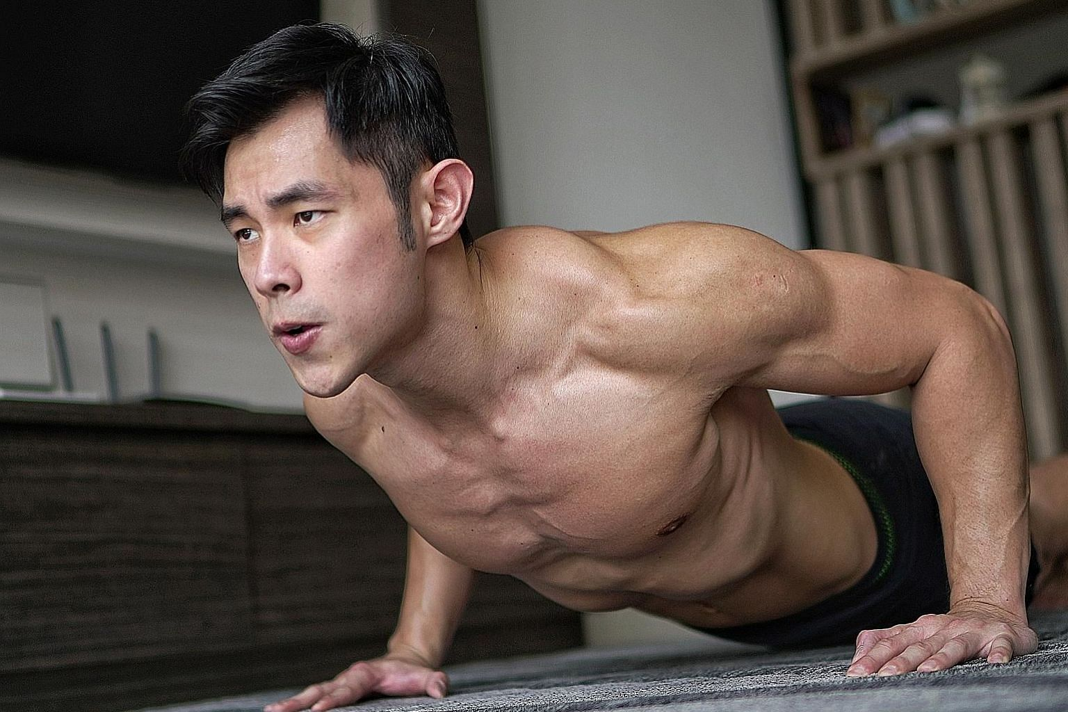 Personal trainer Jordan Yeoh discovered his passion for fitness when he started going to the gym with a friend.