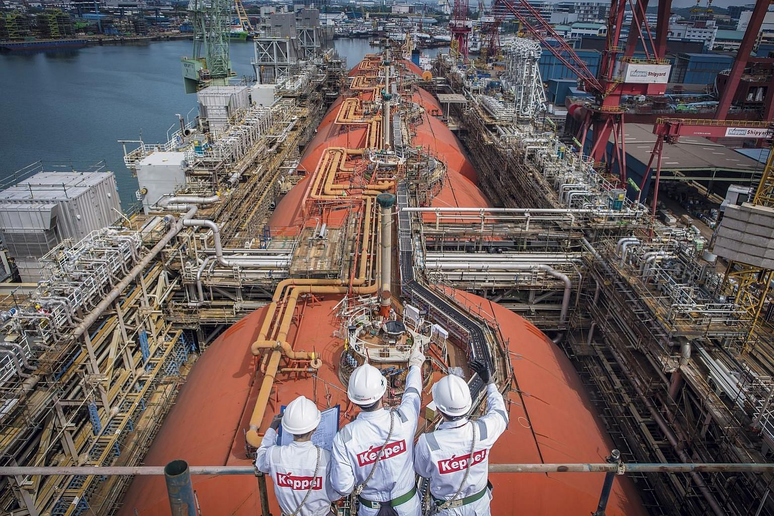 Keppel's businesses include Keppel Offshore & Marine and Keppel Infrastructure. CEO Loh Chin Hua said Keppel is simplifying its corporate structure, given the privatisation of Keppel Land, Keppel Capital's restructuring of its asset management busine