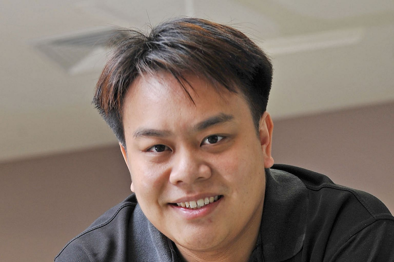 Mr Delane Lim helps vulnerable young people.