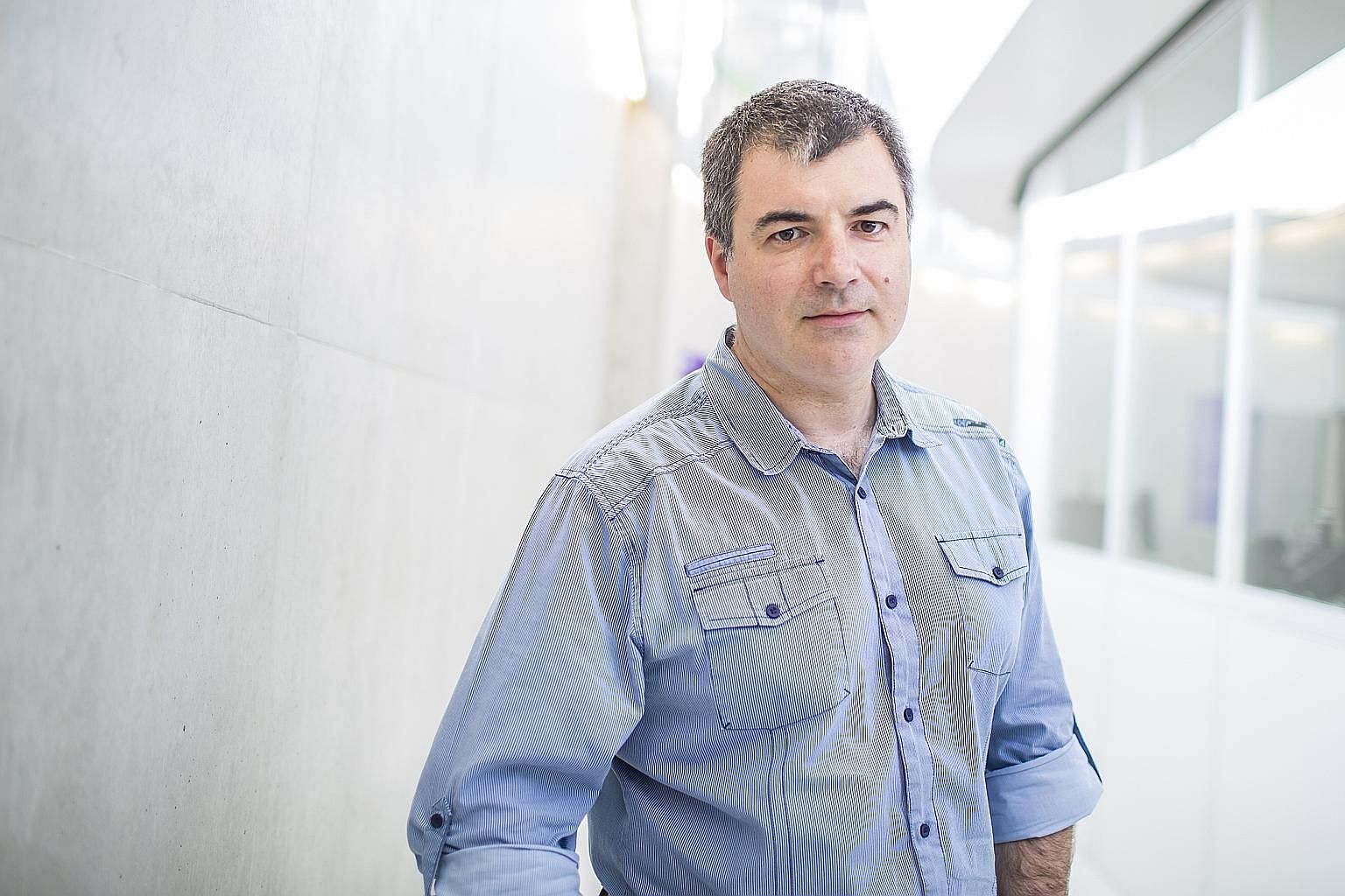 Professor Konstantin Novoselov (above) and fellow researcher Andre Geim were awarded the Nobel Prize for their groundbreaking achievements in graphene. Made up of a single layer of carbon atoms, it is the thinnest material discovered to date, yet it