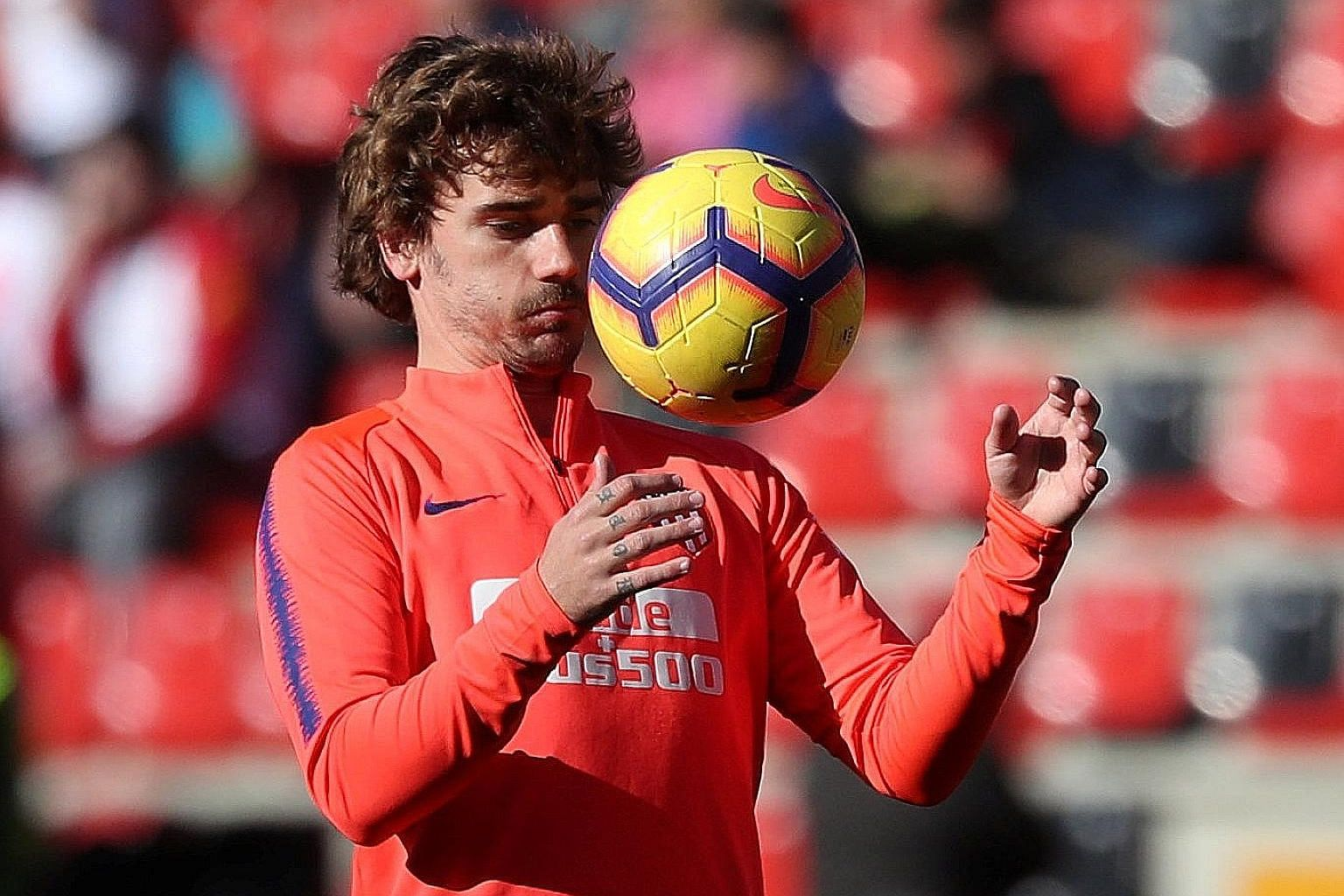Antoine Griezmann would be forgiven for regretting his opportunity to sign for Barcelona. Already out of the King's Cup and the Champions League, Atletico have a huge task trying to close their eight-point gap when they visit the LaLiga leaders today