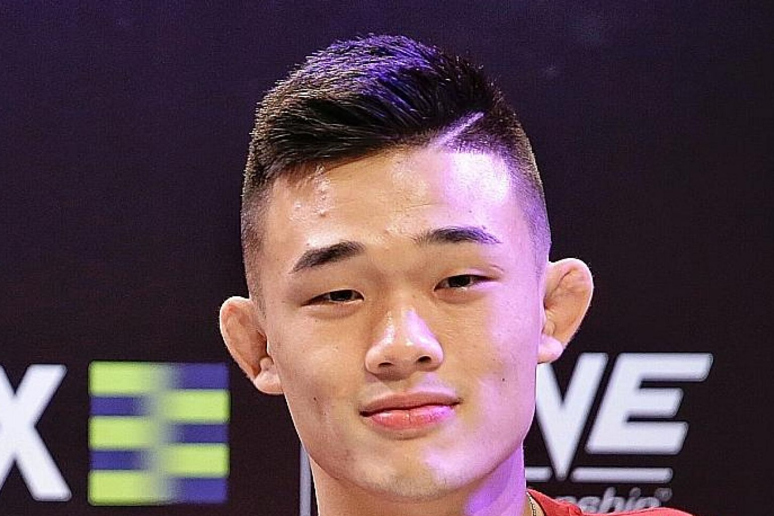 Christian Lee, 20, will challenge Shinya Aoki for his One Championship lightweight belt in Singapore on May 17.