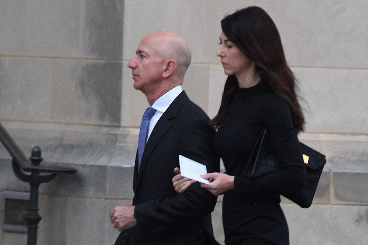 Mr Jeff Bezos and his wife, MacKenzie, announced their separation in January.
