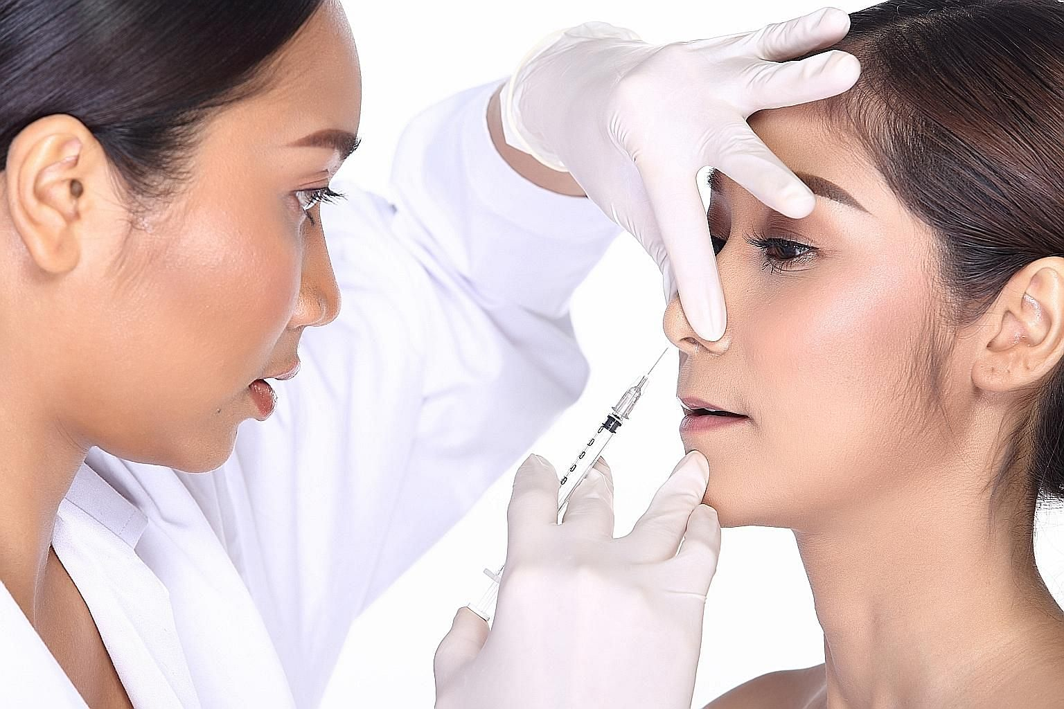 An excessive amount or the incorrect placement of botulinum toxin can lead to facial asymmetry, an unnatural facial expression, drooping eyelids or an uneven smile temporarily.