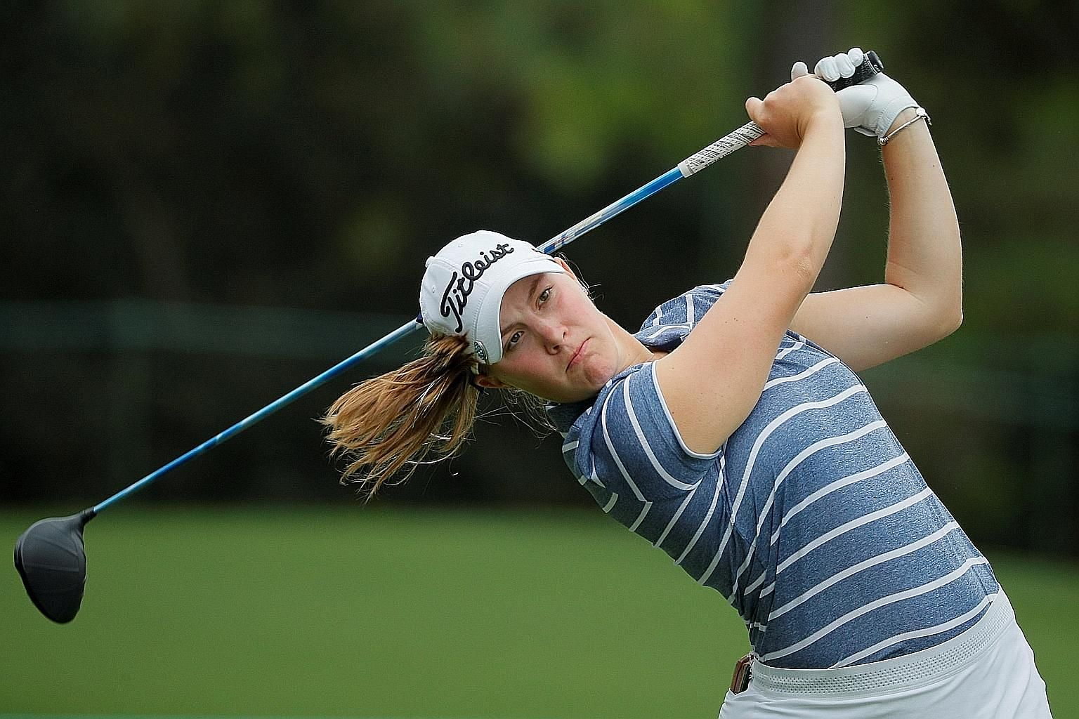 Jennifer Kupcho went five under in the last six holes for a five-under 67 in the final round on Saturday to win the inaugural Augusta National Women's Amateur by four strokes.