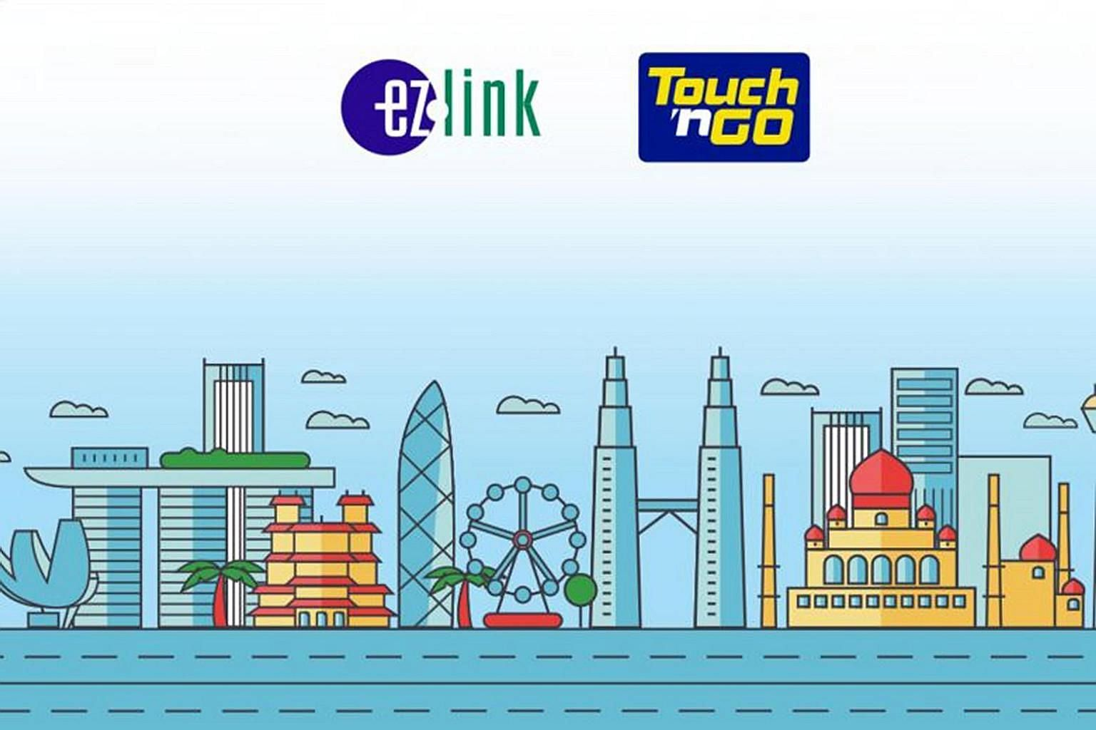 The Combi Card will securely host both electronic wallets from EZ-Link and Touch 'n Go, said the two companies.
