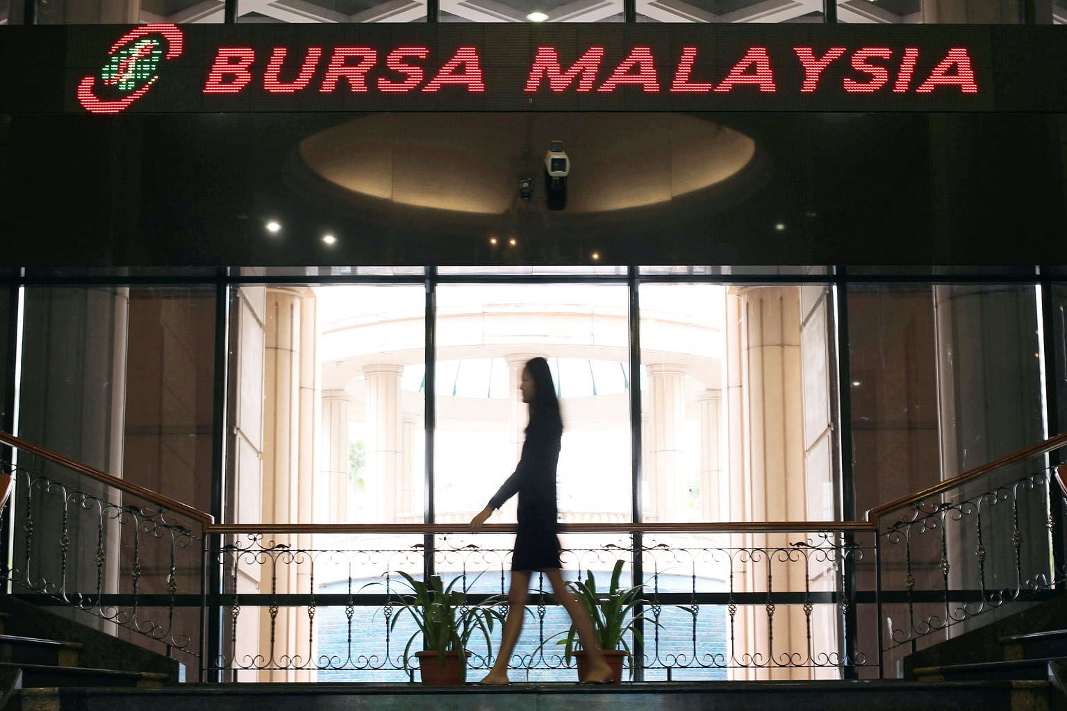Bursa Malaysia's headquarters in Kuala Lumpur. According to data compiled by Bloomberg, foreign investors have dumped Malaysian shares worth more than a net US$500 million (S$677 million) so far this year.