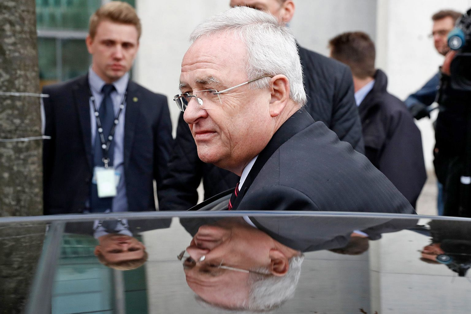 Former Volkswagen boss Martin Winterkorn stepped down as chief executive in 2015, and has denied any wrongdoing. PHOTO: AGENCE FRANCE-PRESSE