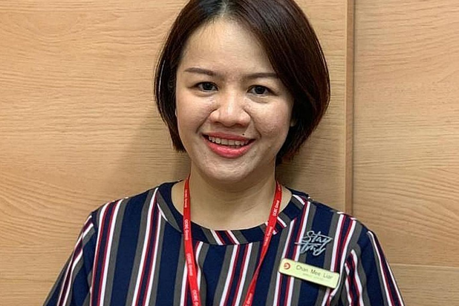 Ms Chan Mee Lian, who has worked in finance for 24 years, said she was suspicious when the customer refused to reveal the purpose of her transactions. PHOTO: OCBC BANK