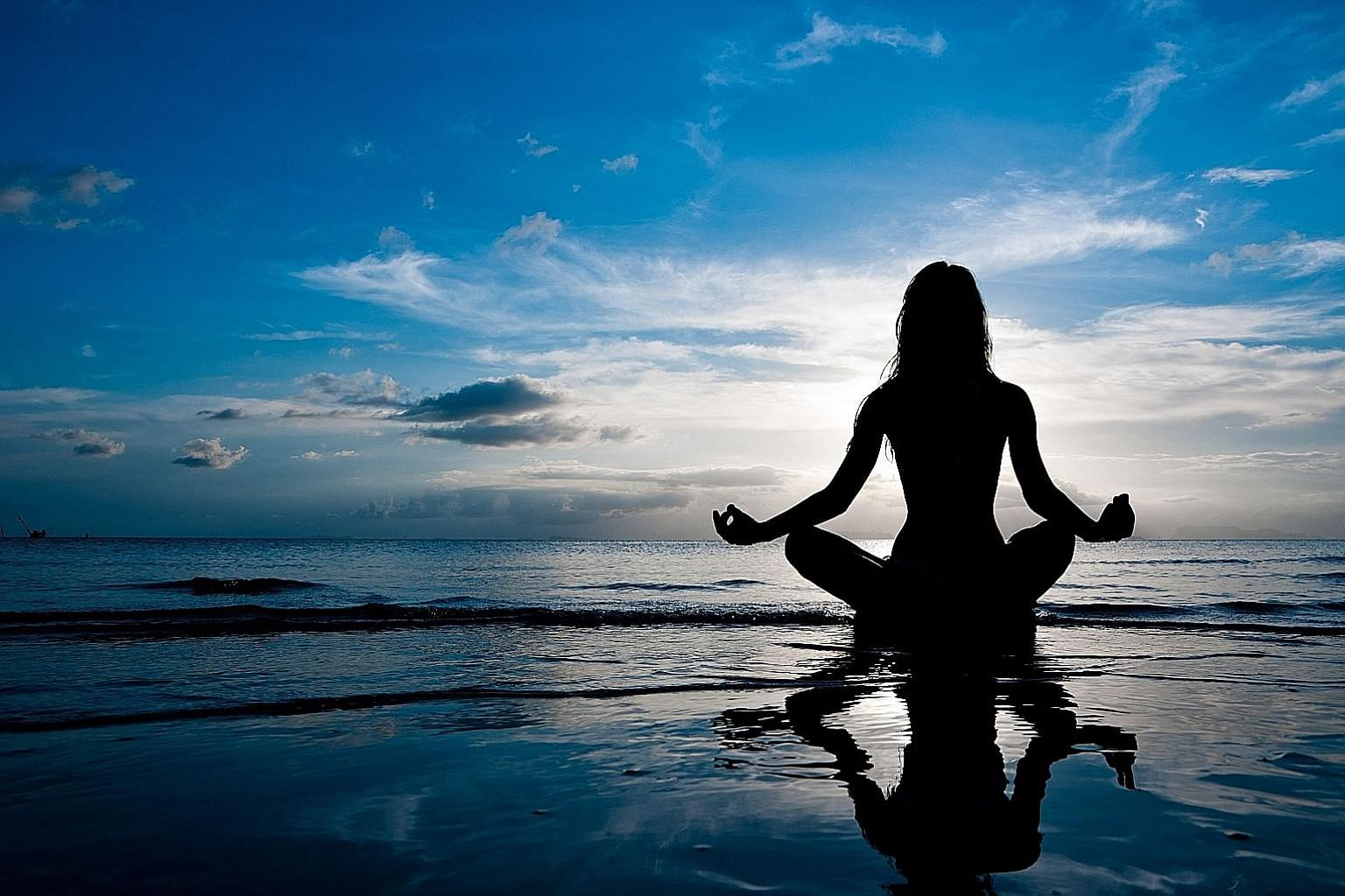 To achieve mental, spiritual and emotional wellness, millennials take up activities such as meditating.