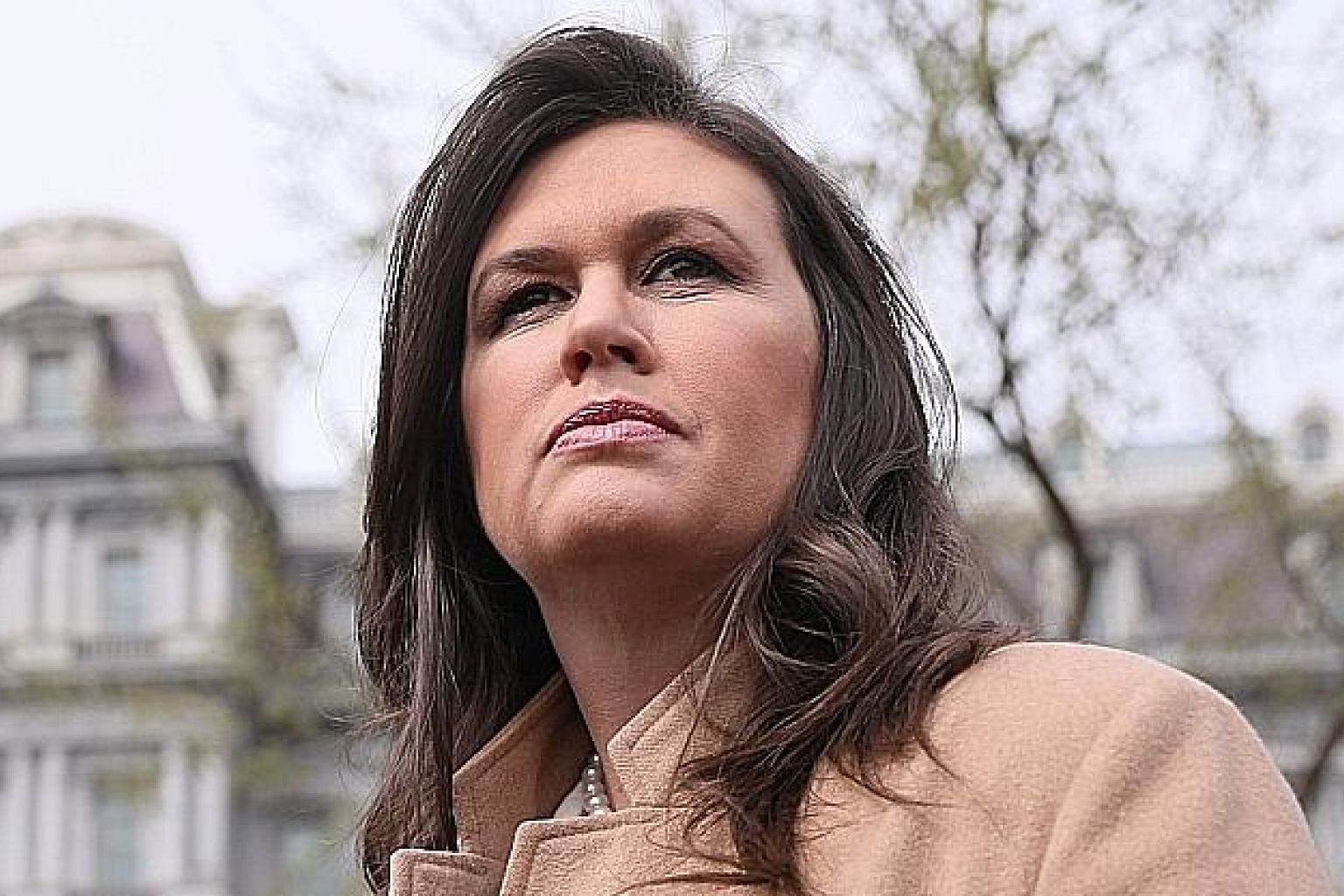 "White House press secretary Sarah Huckabee Sanders told prosecutors that the claims she made at the time of the FBI chief's sacking were ""a slip of the tongue"". Former Trump lawyer Michael Cohen was jailed for lying to Congress and other crimes."