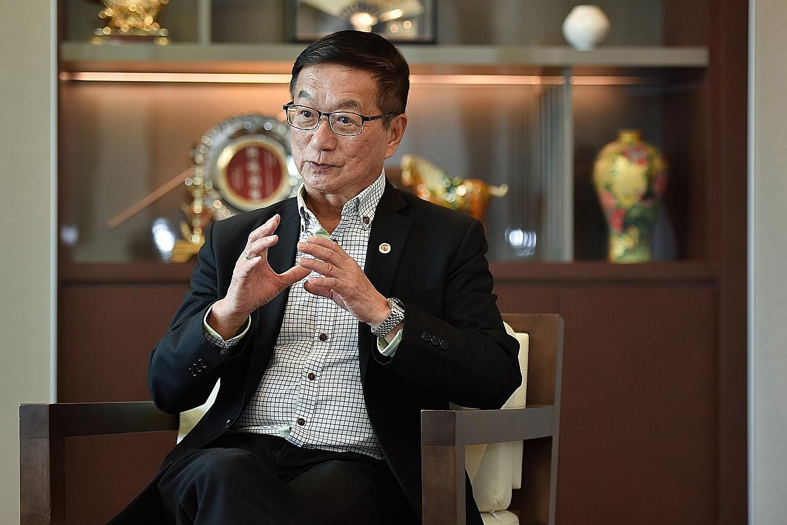 Singapore Chinese Chamber of Commerce and Industry president Roland Ng says preserving family businesses is one of the chamber's priorities for the next three years.