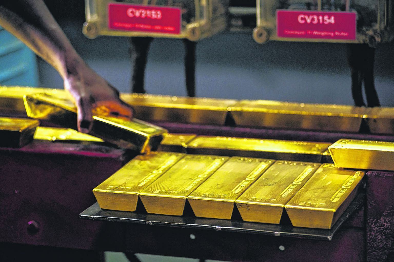 Gold is positively correlated to oil as the metal is often seen as a hedge against oil-led inflation, while a stronger greenback makes dollar-denominated gold more expensive for holders of other currencies.