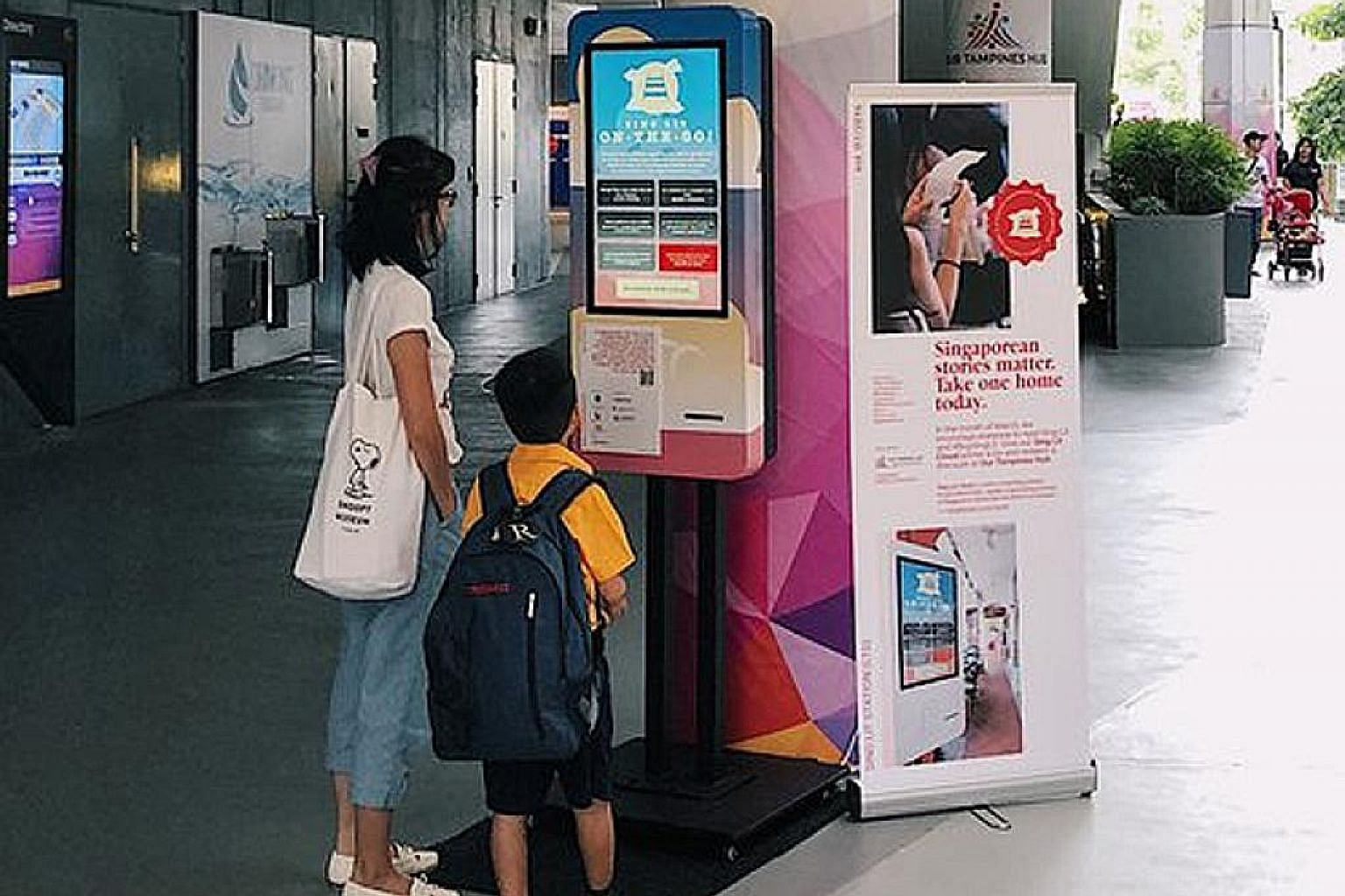 Non-profit literary group Sing Lit Station used the National Arts Council's Seed Grant from 2016 to March this year to support projects such as Sing Lit Cloud, where printers installed at different locations around the island can be used to print wri
