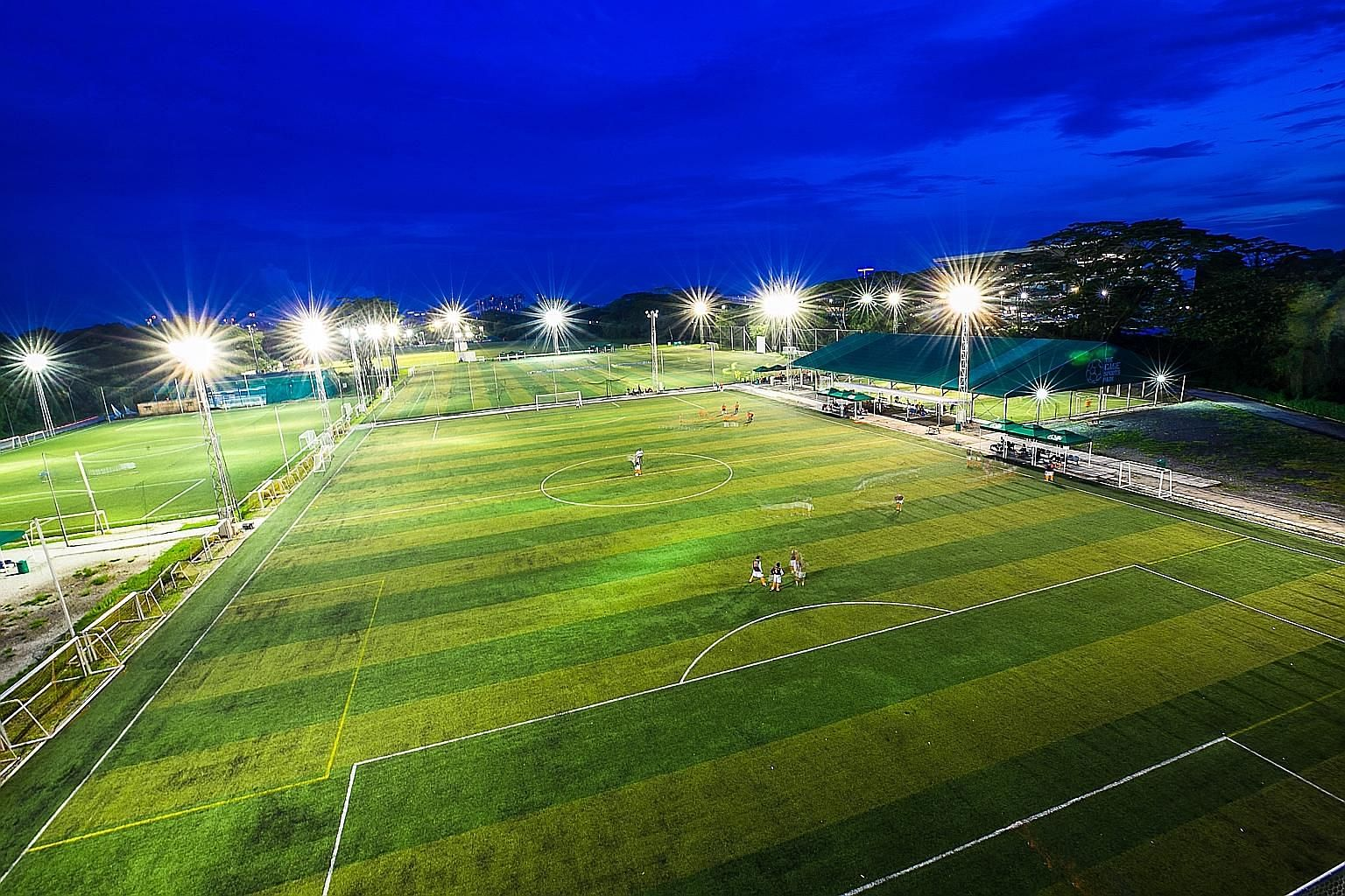 Five sports and recreation operators have teamed up to try to extend the lease of Turf City in Bukit Timah, the former home of the Singapore Turf Club. Turf City - home to a mall and car dealerships - hosts some 30 types of sports and recreational ac