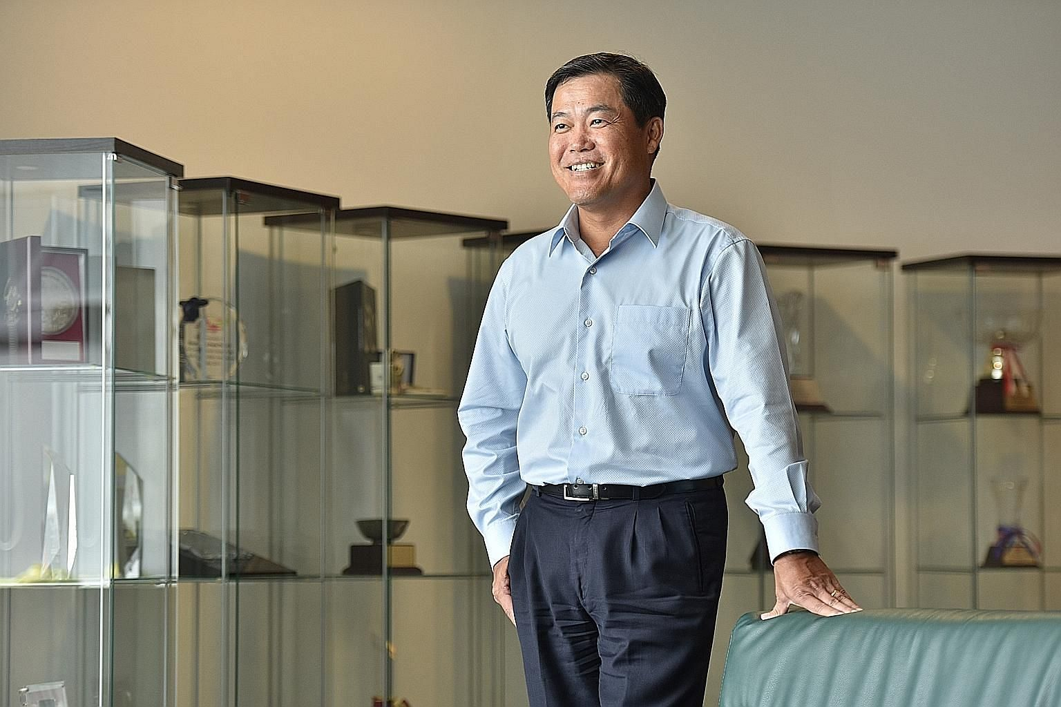 Singapore Pools chief executive Seah Chin Siong says one of his career highlights as head of Singapore Pools was making use of the group's IT resources to help in the digital transformation of charities in Singapore. He will take over as president an