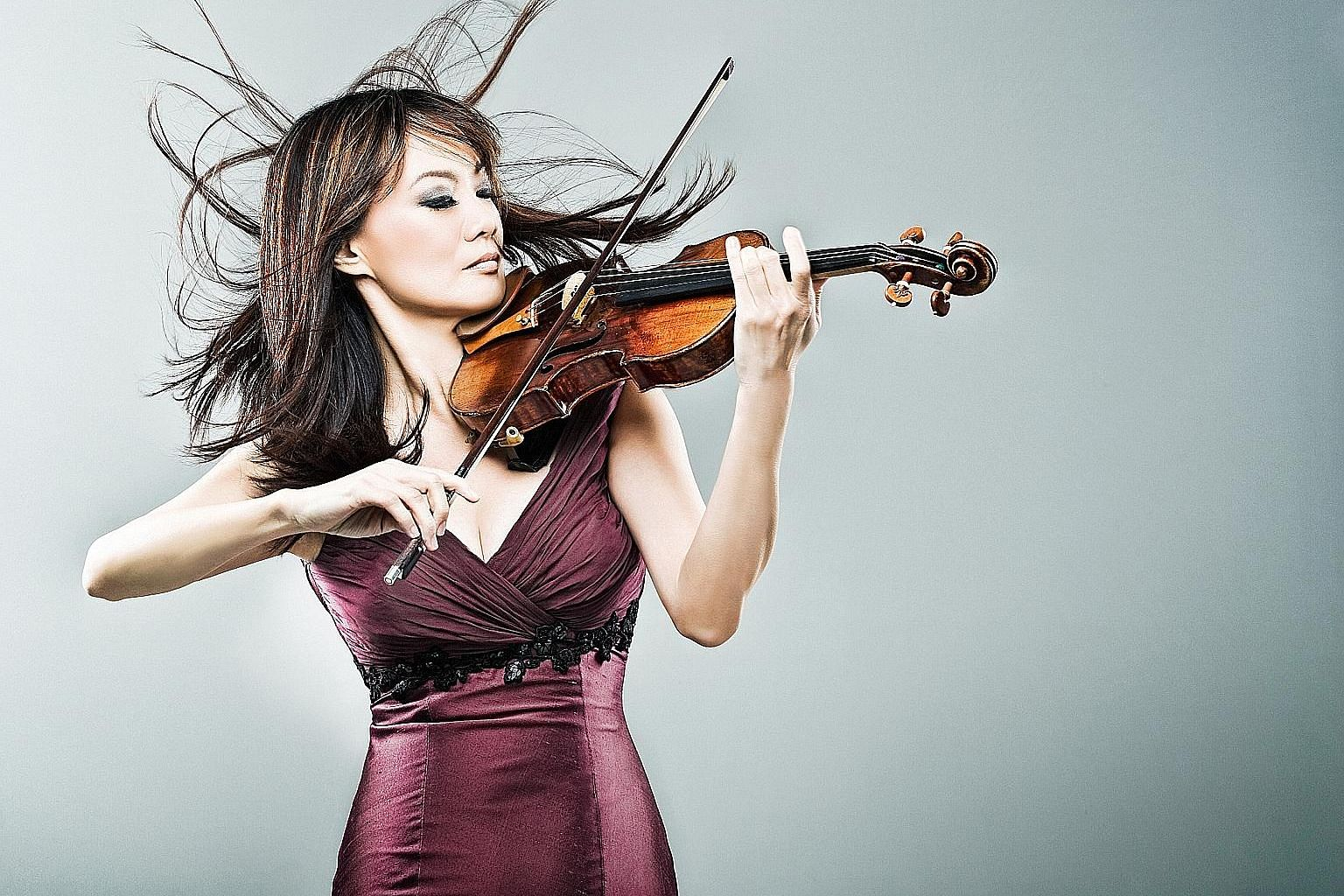 United States-based violinist Siow Lee-Chin