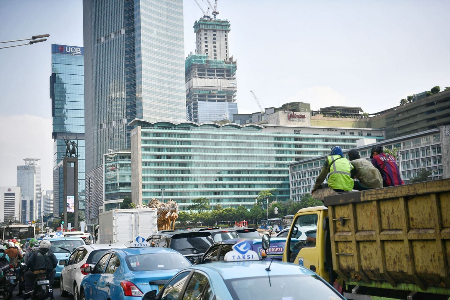 Jakarta, a sprawling metropolis of more than 10 million people, has suffered from traffic congestion, overcrowding, pollution and regular flooding for decades. President Joko Widodo said keeping Jakarta as Indonesia's capital may not be sustainable i