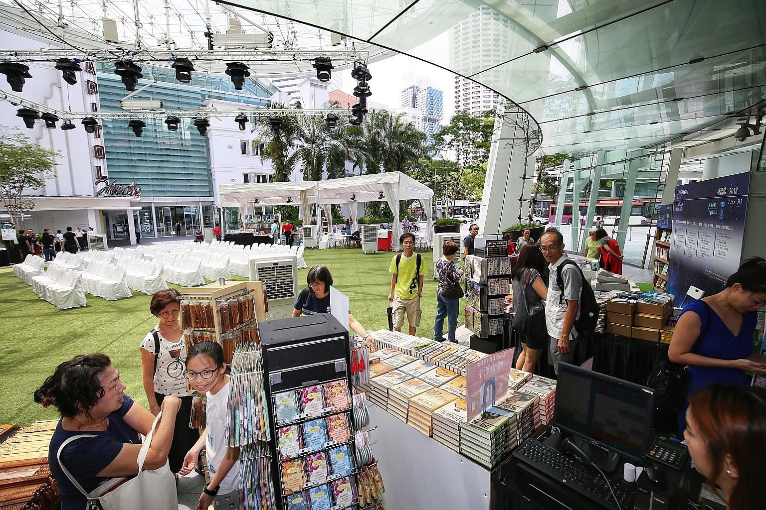 Last year's Singapore Book Fair held at Capitol Singapore. This year's edition will run from May 31 to June 9.