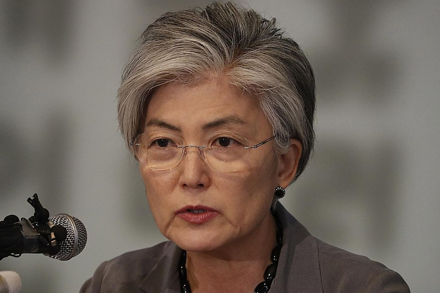 South Korean Foreign Minister Kang Kyung-wha said Seoul will work towards the end goal of complete denuclearisation.