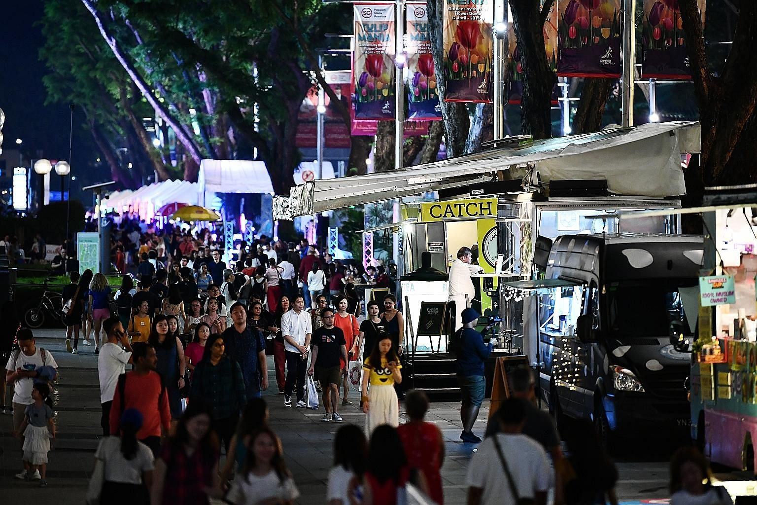 Night At Orchard is part of an eight-month-long pilot to revitalise the iconic road and showcase fashion, arts, street food, drinks and music with a different theme each month.