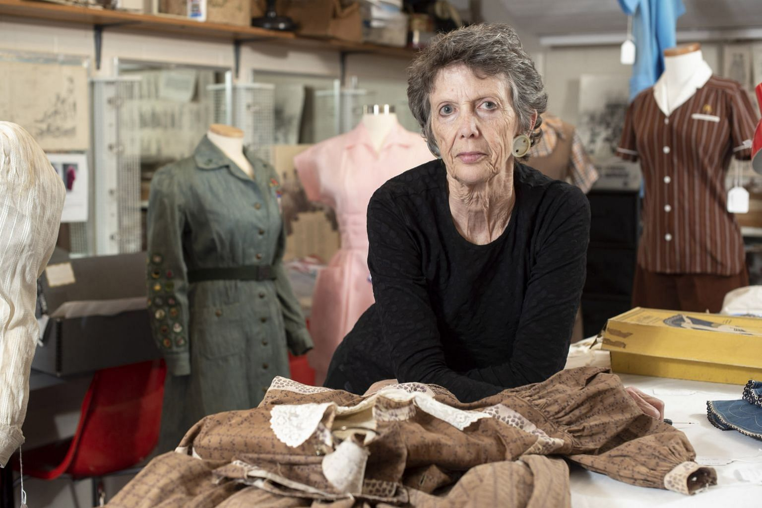 Smith College professor Catherine Smith (above) started the Historic Clothing Collection, which comprises 3,000 articles of everyday women's clothing, including stained aprons and a Girl Scout uniform worn by Sylvia Plath, an American poet and writer.