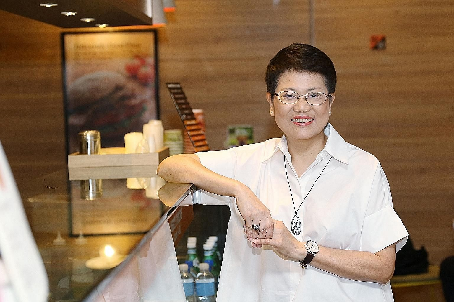 Ms Yeap Cheng Guat learnt how to bake from her late mother. She could bake cakes on her own at eight years old.