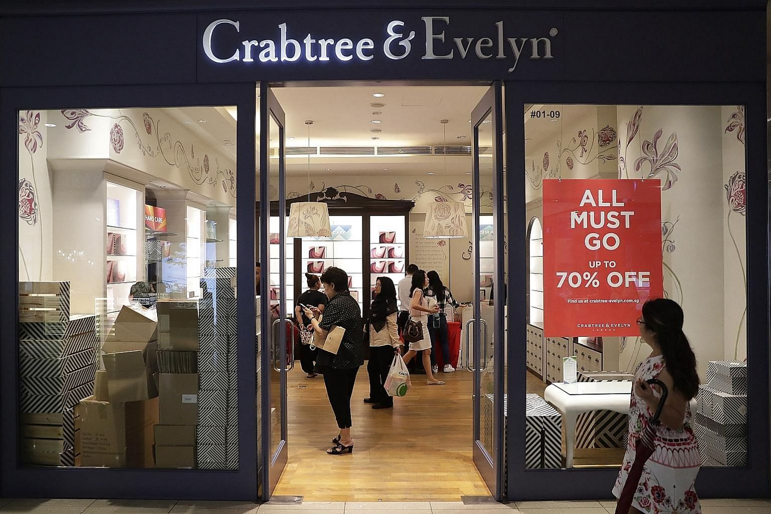 Although retailers such as Crabtree & Evelyn are closing physical stores and rents are scraping the bottom, companies are forecast to add a further 364,000 sq m of retail space in Singapore.